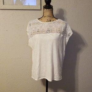 Loft white t-shirt